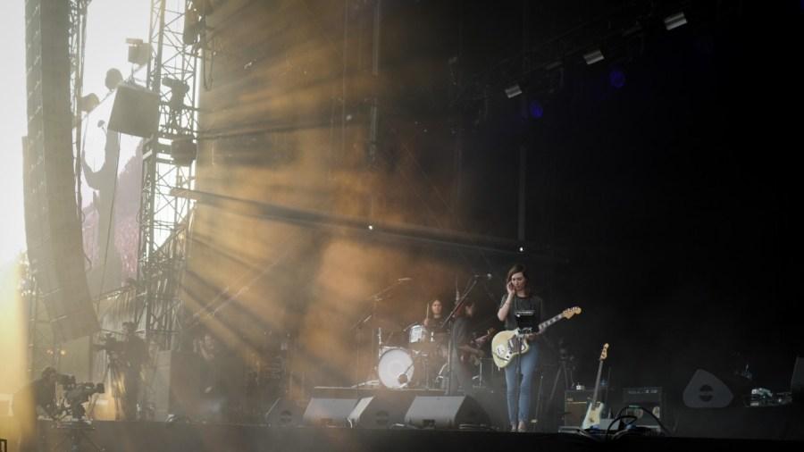 Warpaint live auf dem Best Kept Secret Festival 2018