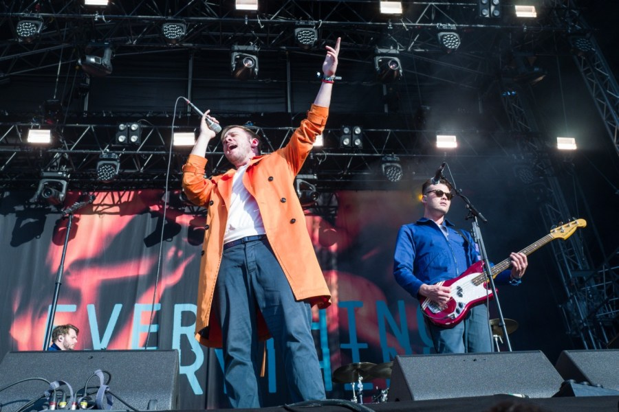 Everything Everything live auf dem MS Dockville