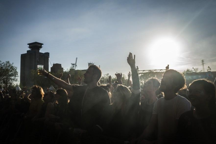 Publikum auf dem MS Dockville Festival 2018