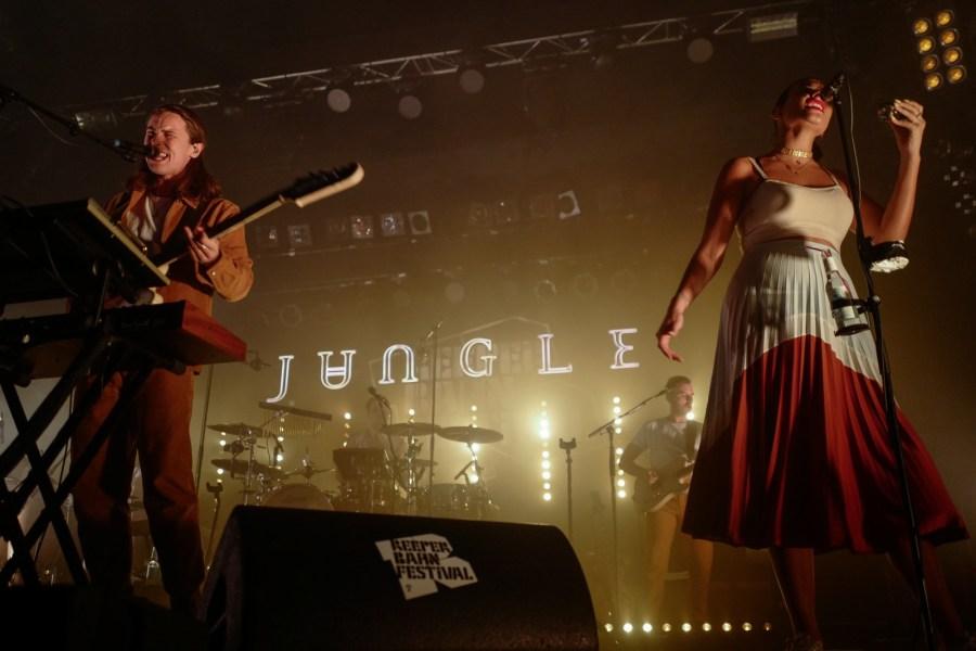 Jungle live auf dem Reeperbahn Festival 2018