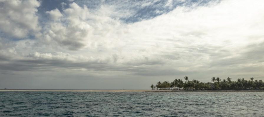 Strandstreifen von Kalanggaman Island