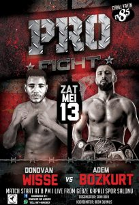 pro fight Donovan 13 mei 2017
