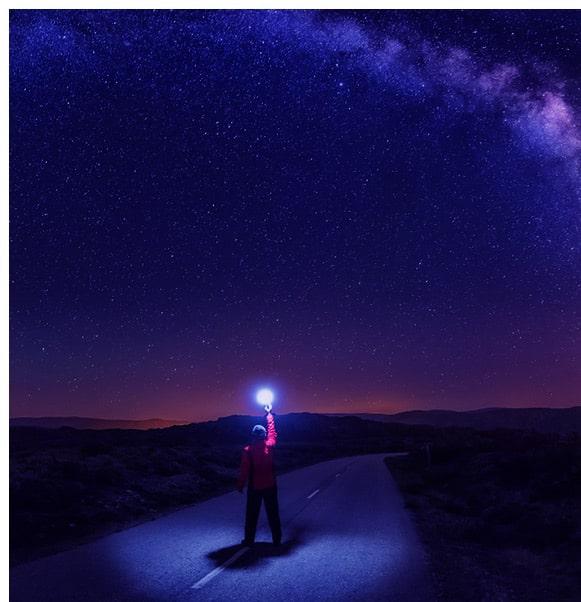 Die heutigen Sternenkonstellationen