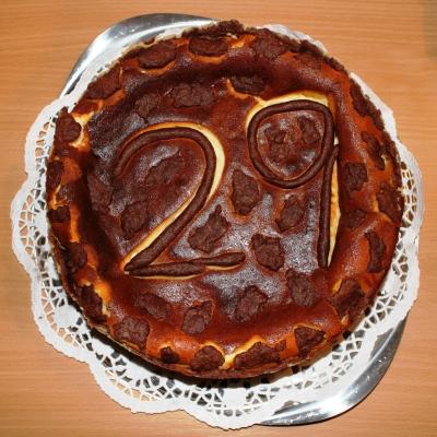 Geburtstagskuchen - 29. Geburtstag Mama