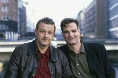 Wilsberg und Manni. (Foto: ZDF / Wolfgang Lehmann)