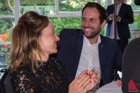Die Potts-Brauerei ist wichtiger Sponsor bei den Events der Krebsberatung. Jörg Pott kam persönlich zum Jubiläum. (Foto: Thomas Hölscher)