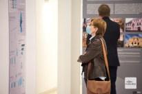 Auf zahlreichen Schautafeln werden Infos zur Wiedervereinigung geboten (Foto: Bührke)
