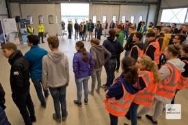 : Bevor es losgeht, gibt es für alle Teilnehmerinnen und Teilnehmer eine Sicherheitseinweisung (Foto: Bührke)