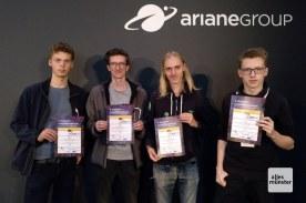 Am Ende landete das Team aus Münster auf dem ehrenvollen vierten Platz. Gewonnen hat das Team CANone aus dem niedersächsischen Wolfsburg (Foto: Team CamSat)