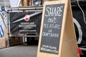 Stanislaus Brewskovitch ist eine junge Craftbeer-Brauerei aus Enschede. (Foto: Michael Bührke)