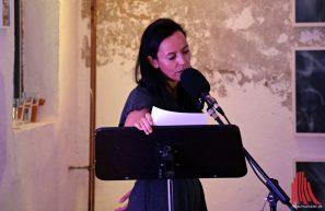 "Silvia Munzón Lopéz vom Duo ""Randomtrigger"". (Foto: Tanja Sollwedel)"