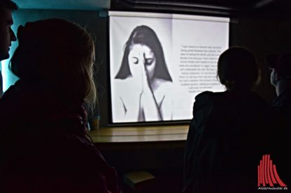 """Das """"No Filter Project"""" von Daria Yakina im Nomad. (Foto: Tanja Sollwedel)"""