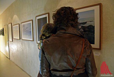 """Fotoausstellung """"Querfeldein durch Südamerika"""" von Fabian Jansen im Nomad. (Foto: Tanja Sollwedel)"""