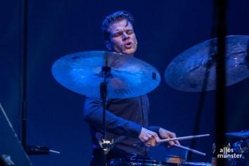 Christian Lillinger von Koma Saxo. (Foto: Stephan Günther)