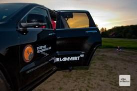 Das Fahrzeug, mit dem Gerseker zu seinen Einsätzen fährt, wurde von einem Autohaus gesponsert. (Foto: Michael Bührke)