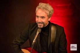 Ein tiefenentspannter Jan Löchel während seines Auftritts in Hiltrup