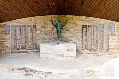 Denkmal für die Gefallenen des zweiten Weltkriegs in Altenberge (Foto: Michael Bührke)
