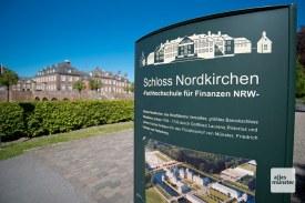 Kein schlechter Studienort: Das Schloss Nordkirchen beheimatet die Fachhochschule für Finanzen NRW. (Foto: Michael Bührke)