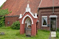 Wegekapelle in der Nähe von Telgte. (Foto: Michael Bührke)