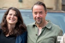 Sophie Seitz und Jan Josef Liefers