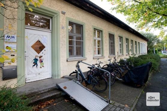 Das heutige Mehrgenerationenhaus am Gescherweg.