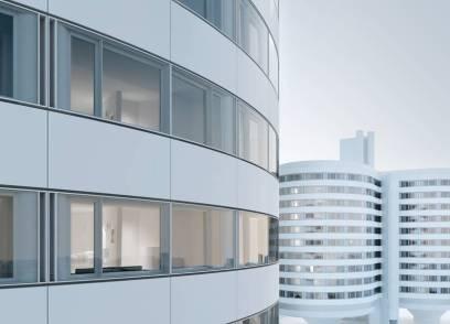 Frische Luft in den Türmen: Der Siegerentwurf ermöglicht eine dringend notwendige energetische Sanierung und eine natürliche Belüftung der Türme. (Quelle: Kleihues + Kleihues)