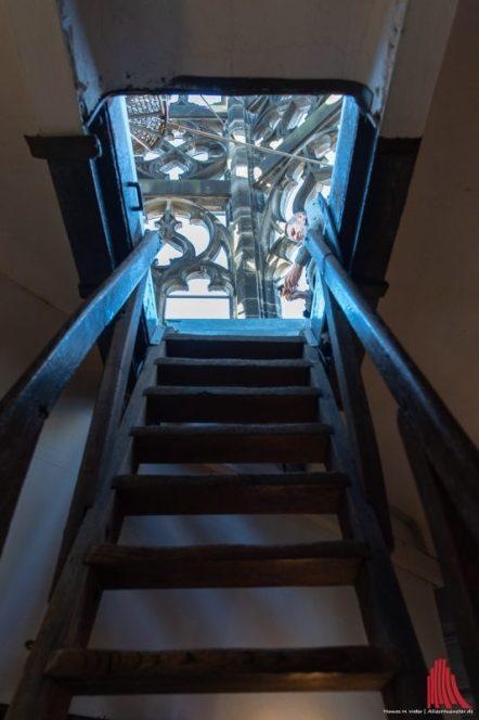 Aufstieg zum Turm von St. Lamberti (Foto: Thomas M. Weber)