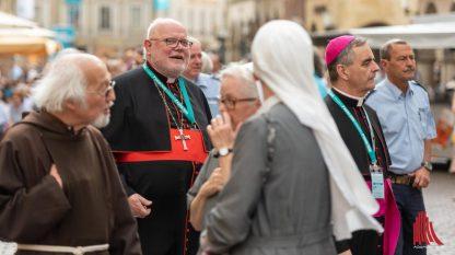 Manche Gruppen blieben beim Katholikentag lieber unter sich, als mit Andersdenkenden zu diskutieren (Foto: ts)