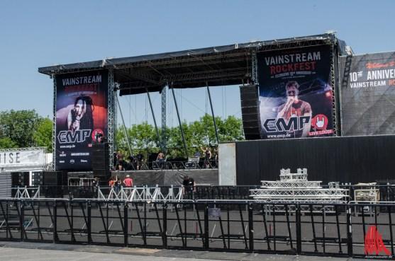 Auf zwei baugleichen Bühnen werden die Acts spielen. (Foto: th)