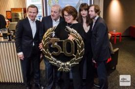 2015 feierte das Team im Cineplex die 50. Folge, inzwischen sind es 67. (Foto: Thomas Hölscher)