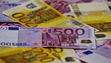 Landaanduiding op eurobiljetten