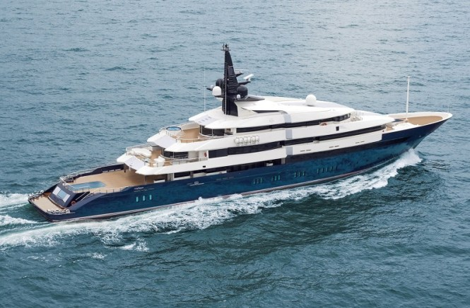 Seven Seas - TOP 10 MOST EXPENSIVE YACHTS IN THE WORLD
