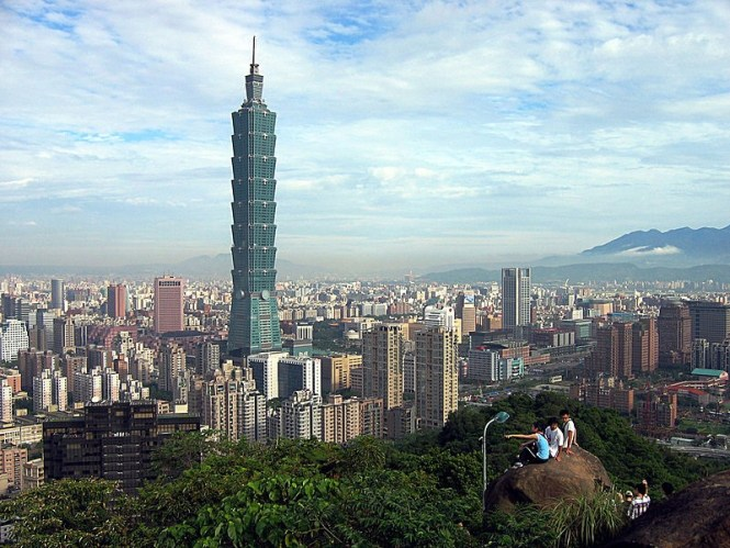 Taipei 101 - TOP 10 HIGHEST BUILDINGS IN THE WORLD