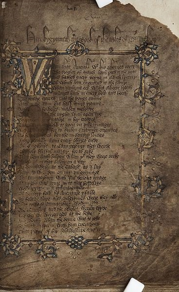 The Canterbury Tales - TOP 10 MOST EXPENSIVE BOOKS EVER SOLD AT AUCTION