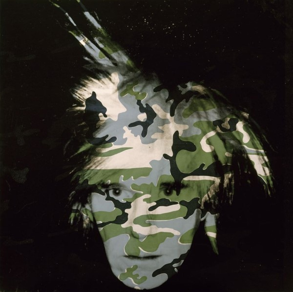 camouflage Self Portrait - TOP 10 MOST FAMOUS WORKS BY ANDY WARHOL