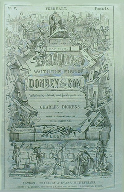 Dombey and Son - TOP 10 BEST WORKS BY CHARLES DICKENS