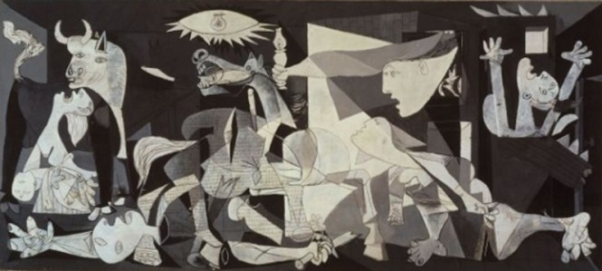 Guernica - TOP 10 MOST FAMOUS ICONIC PAINTINGS BY PABLO PICASSO