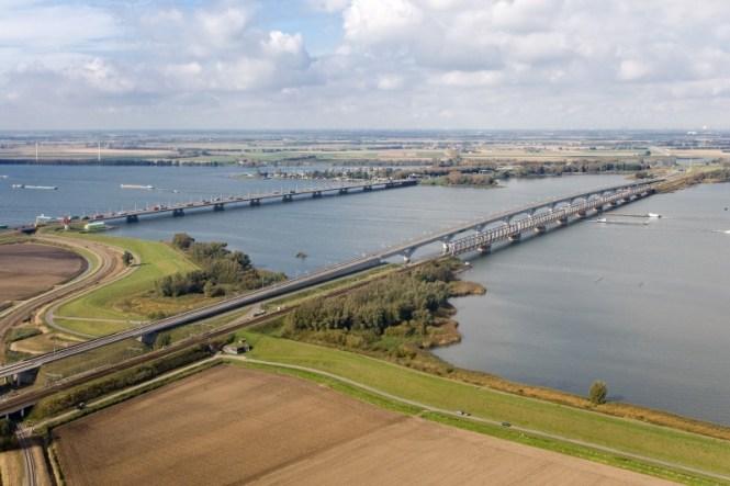 Moerdijkbruggen - TOP 10 MOST FAMOUS BRIDGES IN THE NETHERLANDS