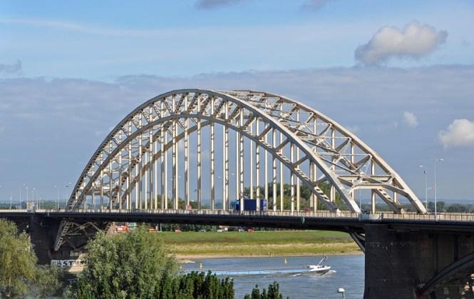 Waalbrug - TOP 10 MOST FAMOUS BRIDGES IN THE NETHERLANDS