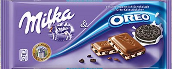 Milka Oreo   TOP 10 BEST CHOCOLATE BARS IN THE WORLD