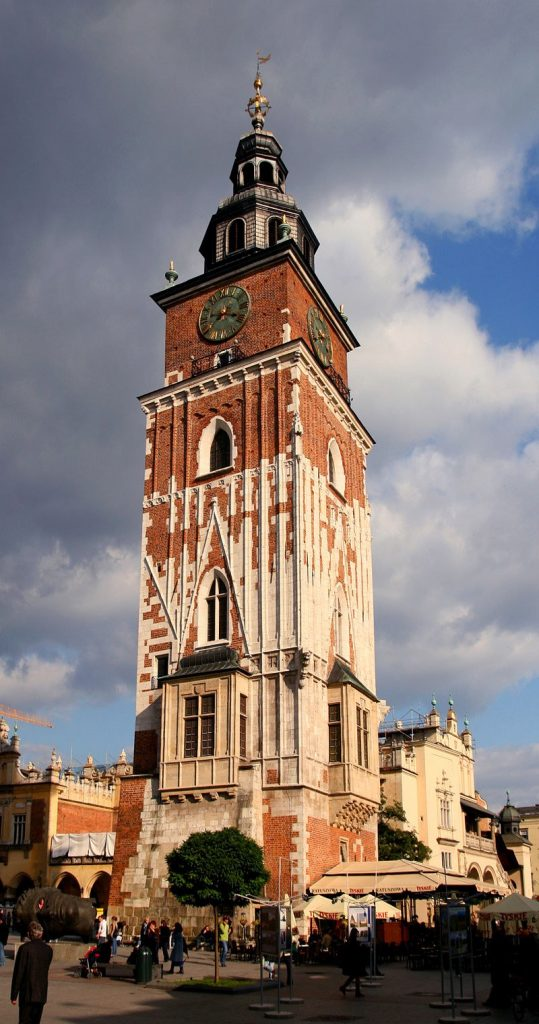 Raadhuistoren 539x1024 - TOP 10 BEST ATTRACTIONS IN KRAKOW