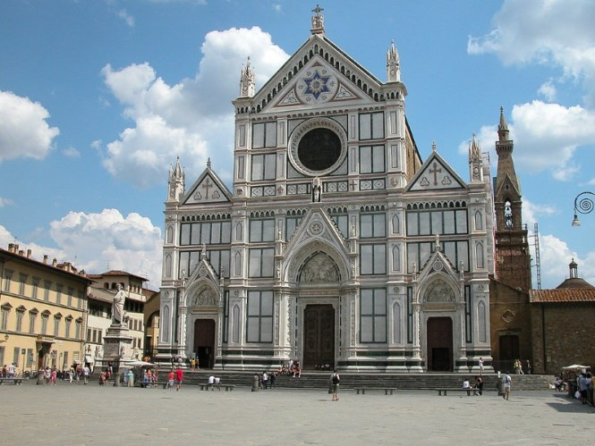 Santa Croce - TOP 10 MOST FAMOUS ATTRACTIONS IN FLORENCE