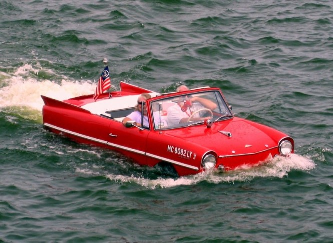 Amphicar Model 770 - TOP 10 STRANGEST CARS EVER CREATED