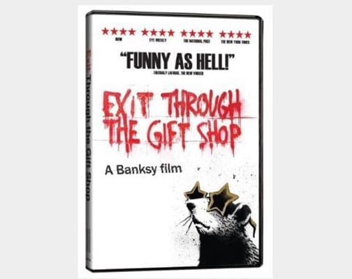 Exit Through the Gift Shop - TOP 10 GRAFFITI ARTWORKS BY BANKSY