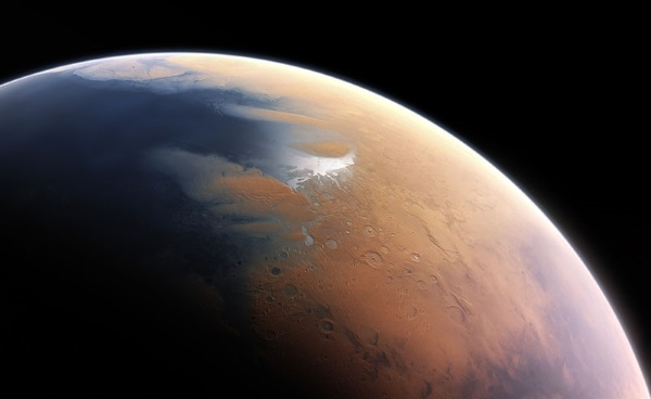 mars oceaan - TOP 10 FASCINATING FACTS ABOUT THE PLANET MARS