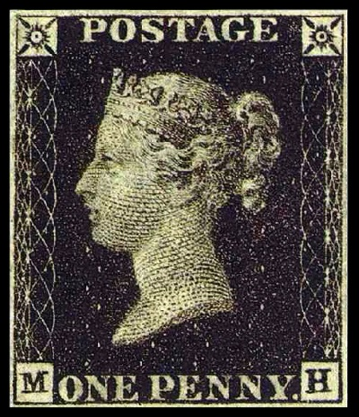 Penny Black - TOP 10 MOST EXPENSIVE STAMPS EVER SOLD