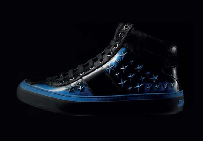 Jimmy Choo Belgravia High Tops Star Studded - TOP 10 MOST EXPENSIVE SNEAKERS IN THE WORLD THE MOST EXPENSIVE TRAINERS EVER SOLD