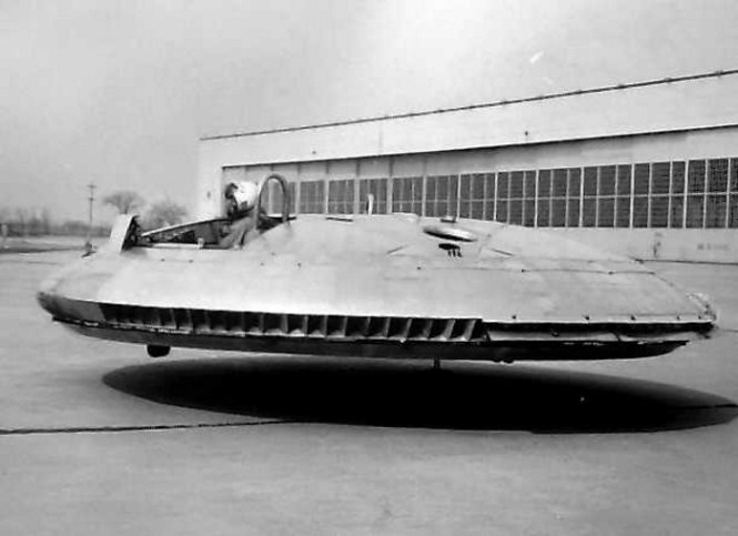 De Avro VZ9 Avrocar - TOP 10 Experimental Strange Aircraft weird looking aircrafts designs that really exsist