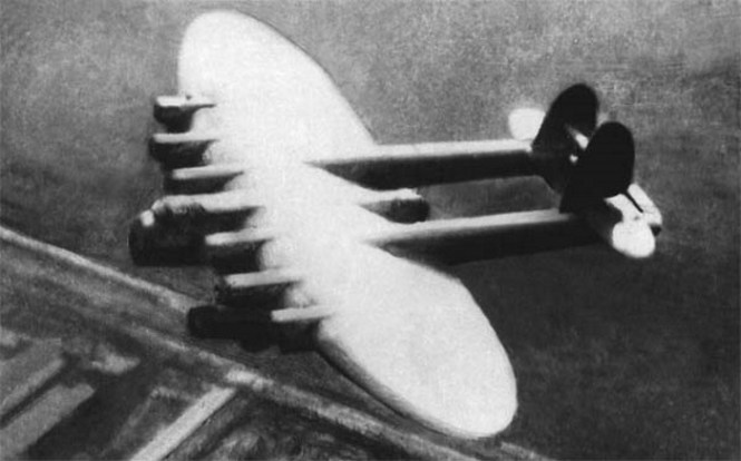 Konstantin Kalinin K 7 - TOP 10 Experimental Strange Aircraft weird looking aircrafts designs that really exsist