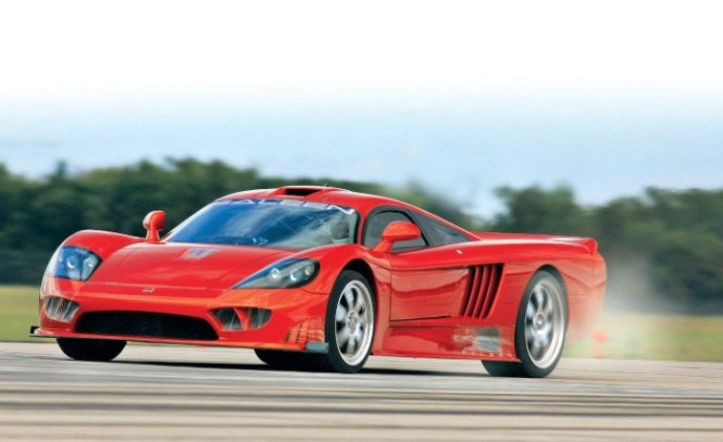 Saleen s7 Twin Turbo - TOP 10 WORLDS FASTEST CARS